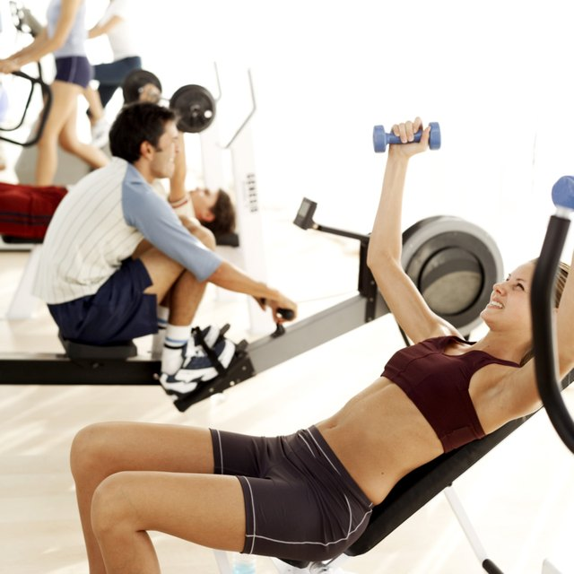 Strength training amps up your metabolism because muscles use more energy at rest than fat does.