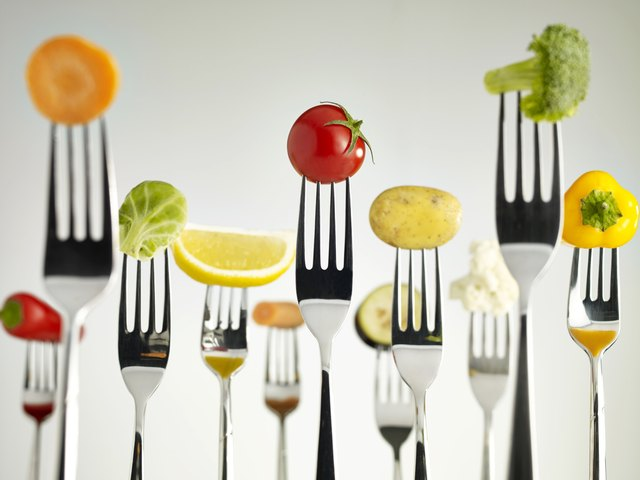 The paleo diet includes fresh fruits and vegetables.