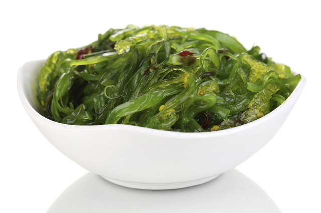 Eating kelp can help fight cancer.