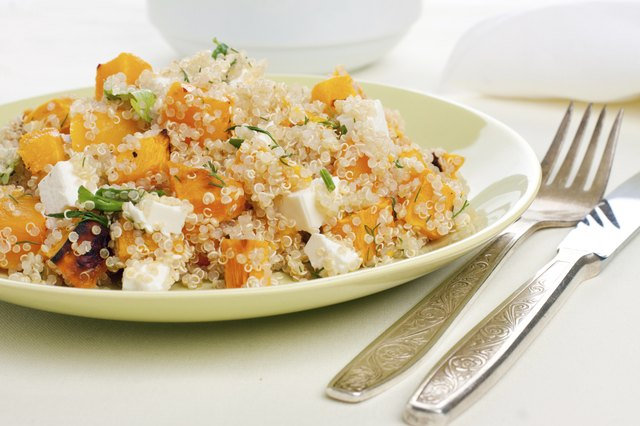 Quinoa is a healthy grain that isn't commonly used in the United States.