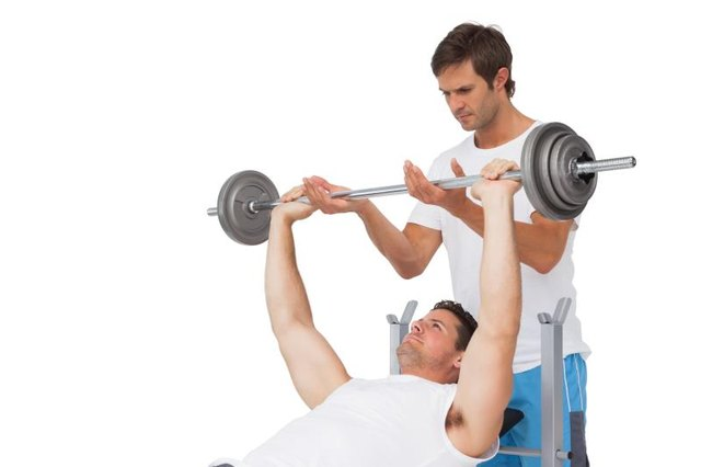 Chest presses are a great way to target the pectoralis major muscle.