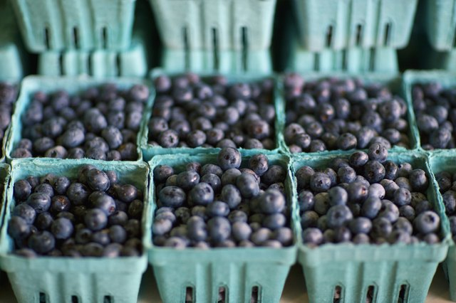 Acai berries contain 10 times more antioxidant vitamins than grapes and twice as many as blueberries.