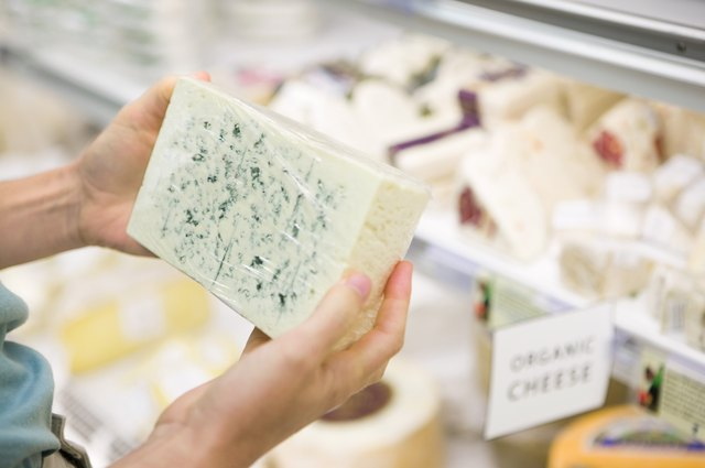 Choosing low- or non-fat cheeses over full-fat cheese can help with a weigh loss program.