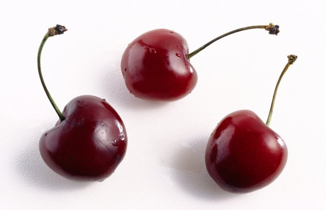 Cherries are low glycemic foods.