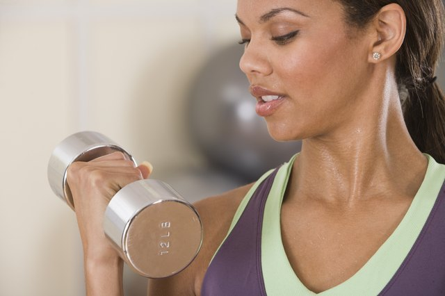 Weight training is an activity all young women must do every week.