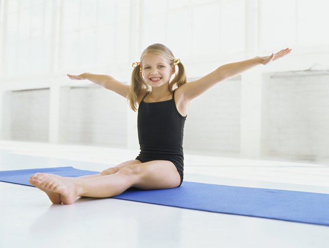 Gymnastics builds and improves your child's physical skills.
