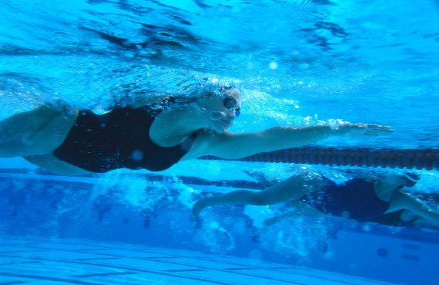 Swimming puts little pressure on your joints.