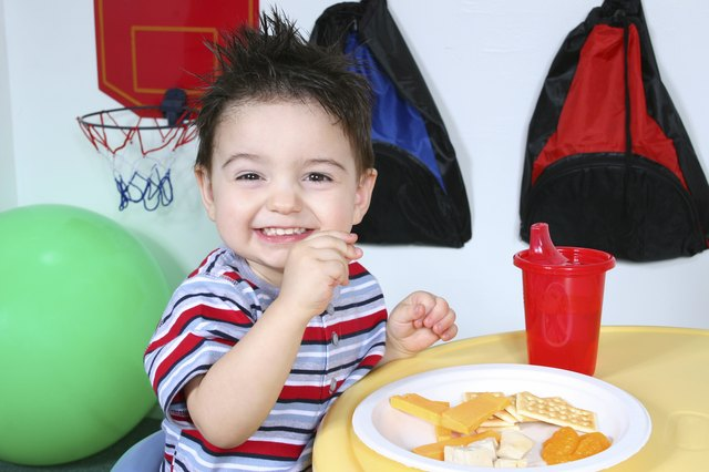 Toddlers need two to three servings of dairy a day.