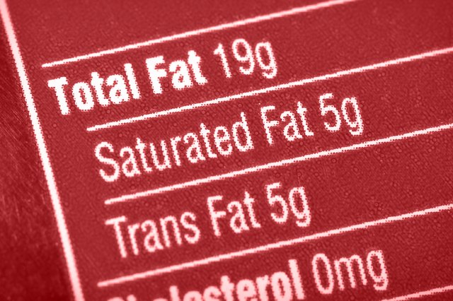 Check nutritional labels for trans fat content.