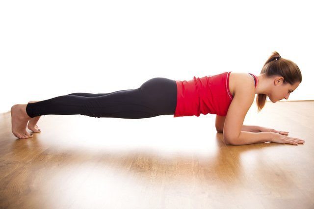 The plank exercise is very effective and won't hurt your back.