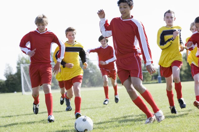 Soccer is a popular sport with teens.