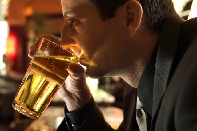 Light beer has relatively few calories.