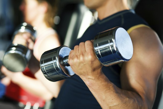 Do more reps with lighter weights.