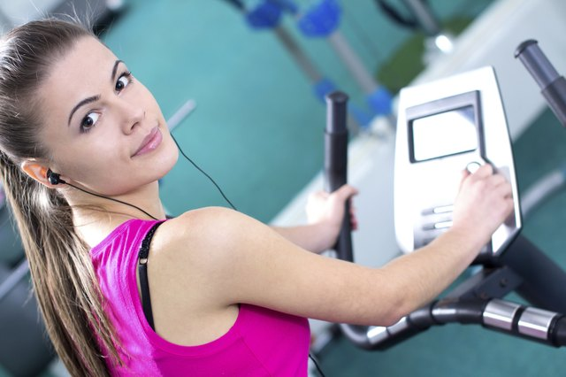 The elliptical machine is a good way to strengthen your quads.