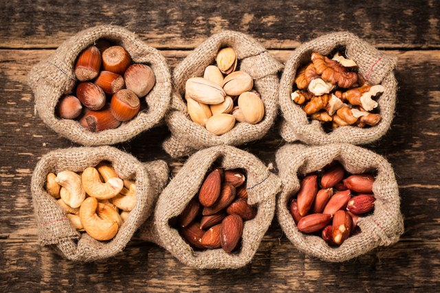 Amp up your consumption of nuts in week three.