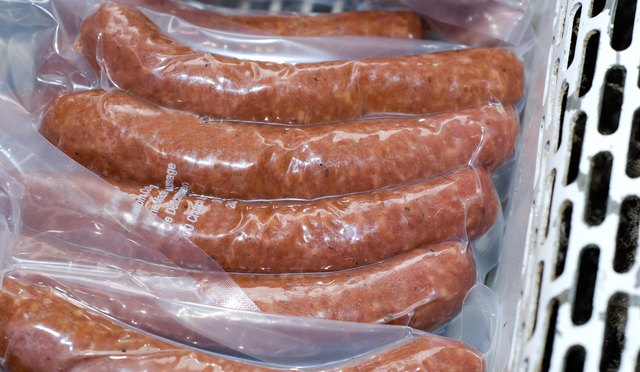 Packaged meat contain nitrates and nitrites.