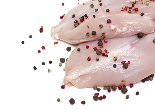 Boneless, skinless chicken breast.