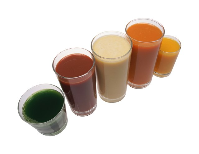 Vegetable juices.