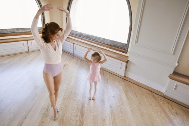 Dancing on floating wood floors puts less stress on the knee.