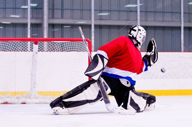 Once you have your skills down, joining a hockey team is an option.