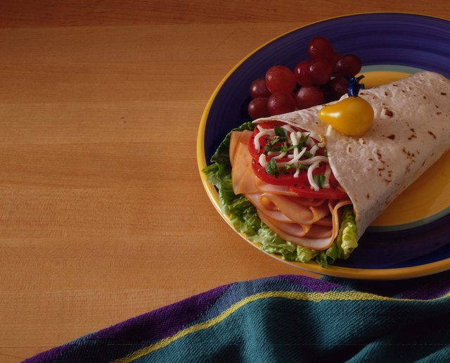 Wraps are a fun and versatile alternative to a sandwich.