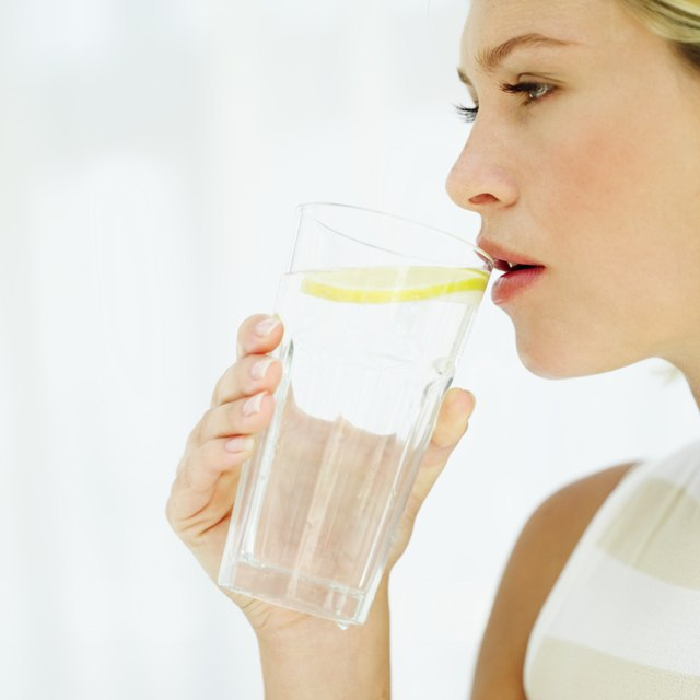 Stay hydrated by drinking water.