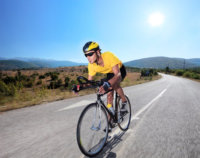 To participate in sports such as cycling, you need to develop varying levels of muscular endurance and strength.