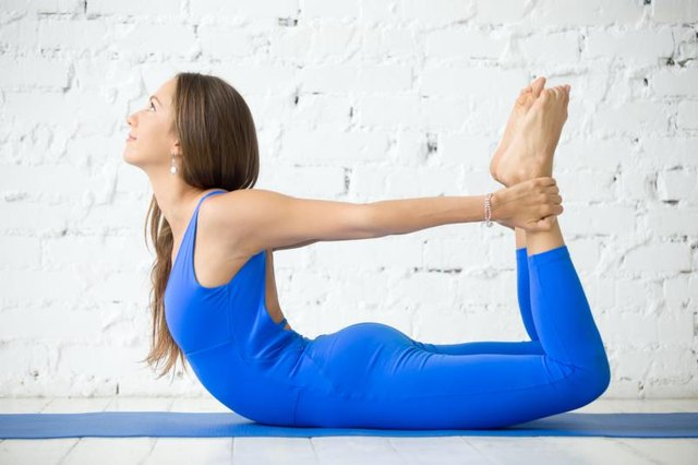 Stretching improves back flexibility.