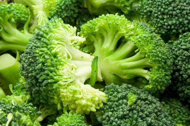 close up of broccoli