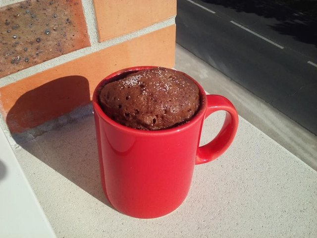 You will need a mug to bake the muffin in.