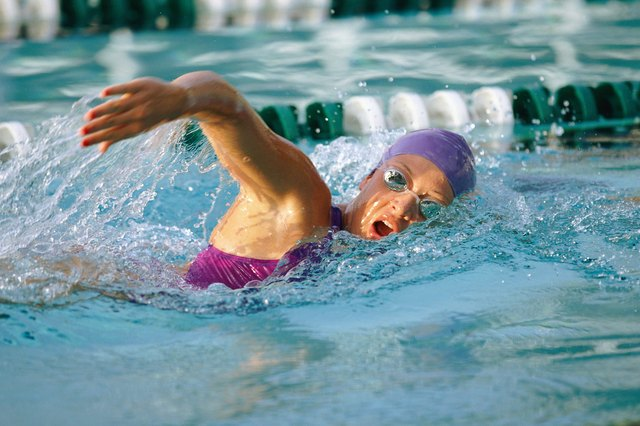 Swimming works the entire body.