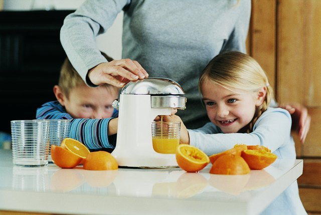 Making your own juice makes getting in the recommended servings of fruit easier and convenient.