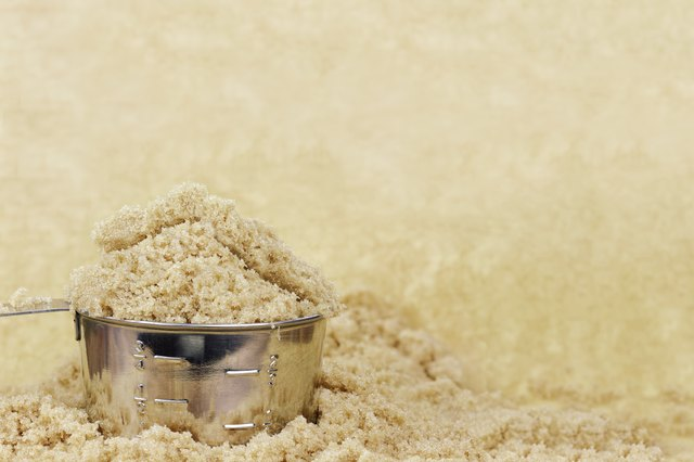 Brown sugar isn't any more natural than white sugar.