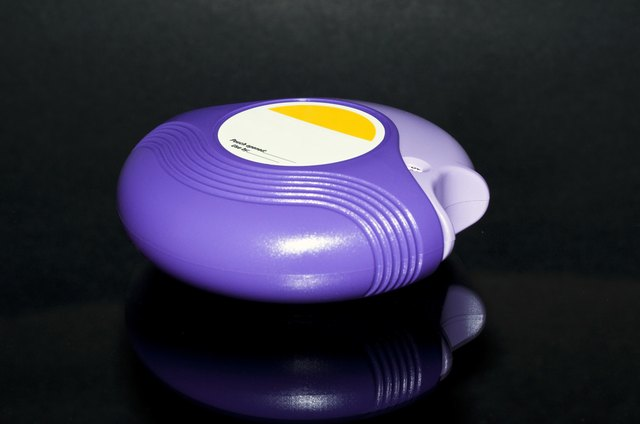 Asthma inhaler patient education