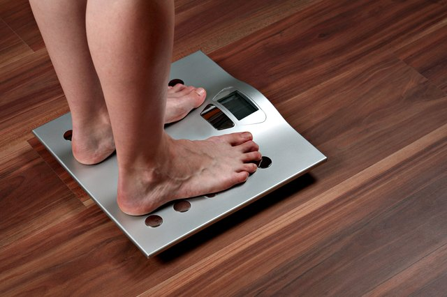 Healthy weight loss should be no more than one pound per week.