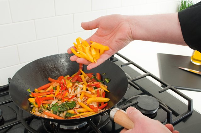 Use oil instead of butter when cooking vegetables.