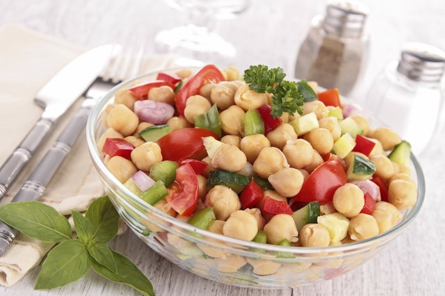 Help improve your health with chickpeas.