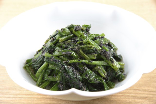 Sauteed spinach.