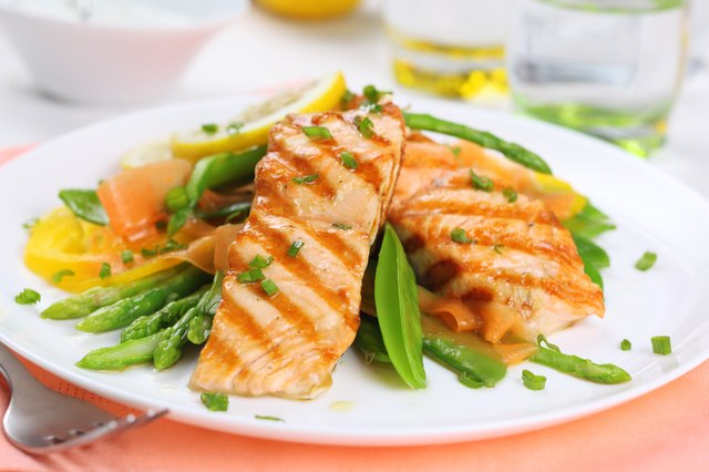 Salmon is rich in Omega 3.