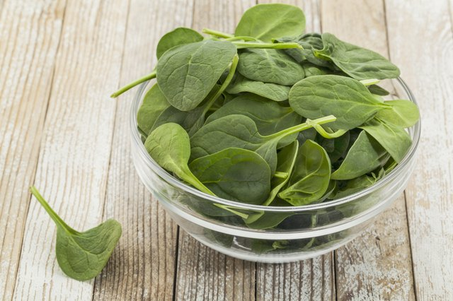 spinach is another source of non-heme iron