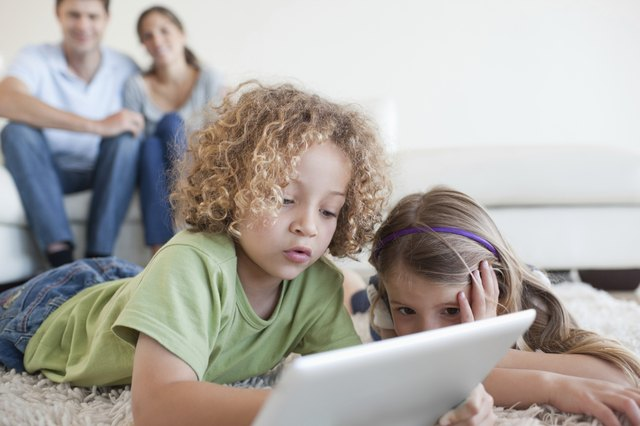 Even today's young children are using computers regularly.