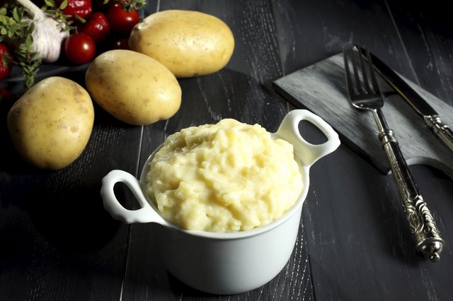 Mashed potatoes.