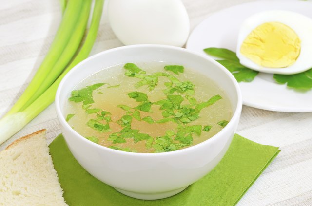 Chicken broth is easy for your body to digest.