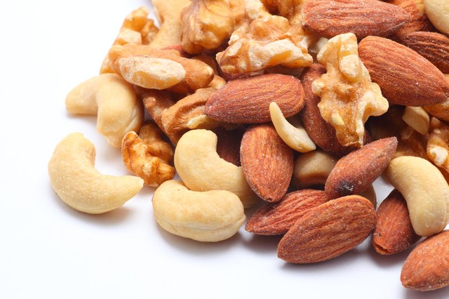 Nuts have a lot of Zinc.