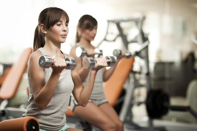 Do strength-training exercises two or three times a week.