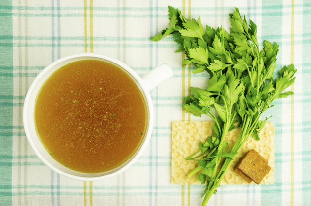 broth based soups will rehydrate your system