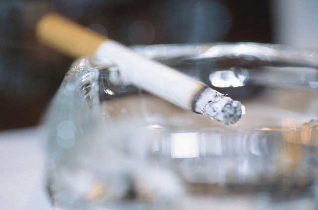 Smoking can cause hair to turn gray prematurely
