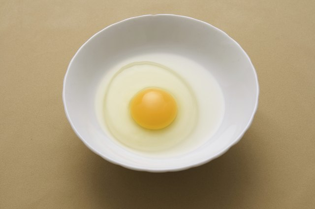 Egg replacements may still have egg whites.