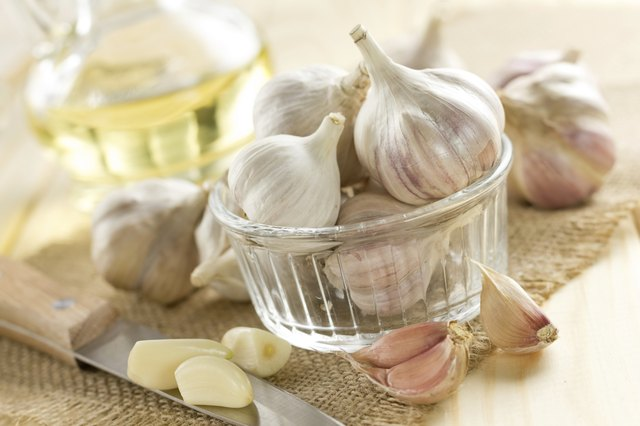 Garlic is a good decongestant and flu-fighting agent.