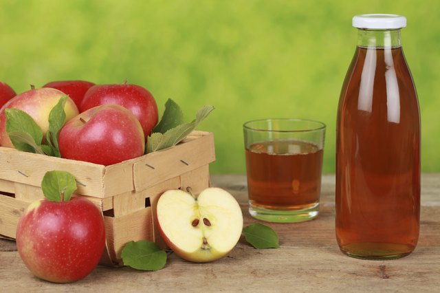 Apple juice could also reduce chances of cancer.